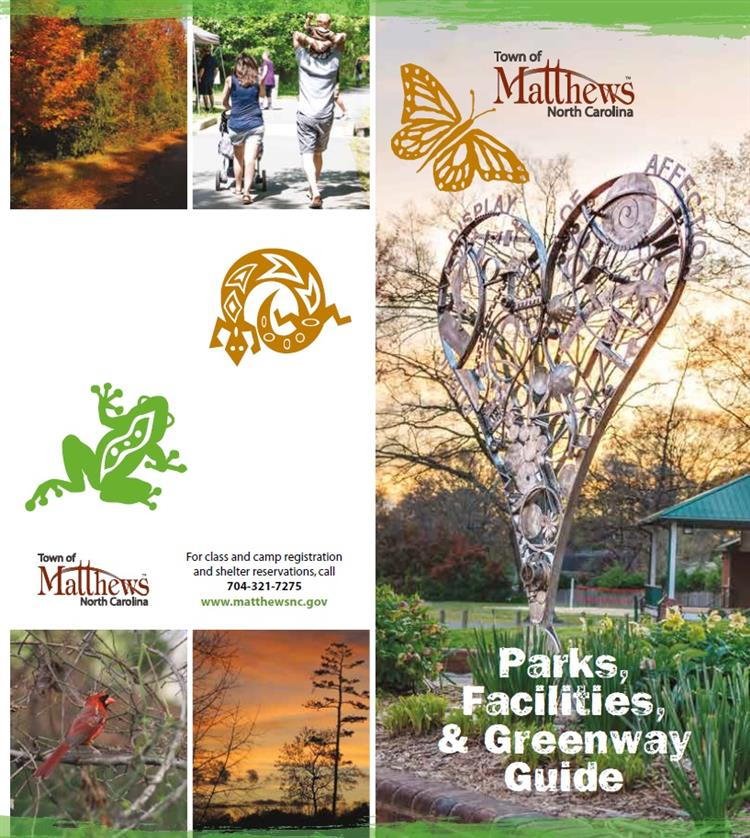 Brochure Cover - Parks/Facilities/Greenway 5/29/2018