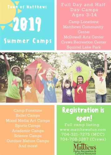 19 Summer Camps